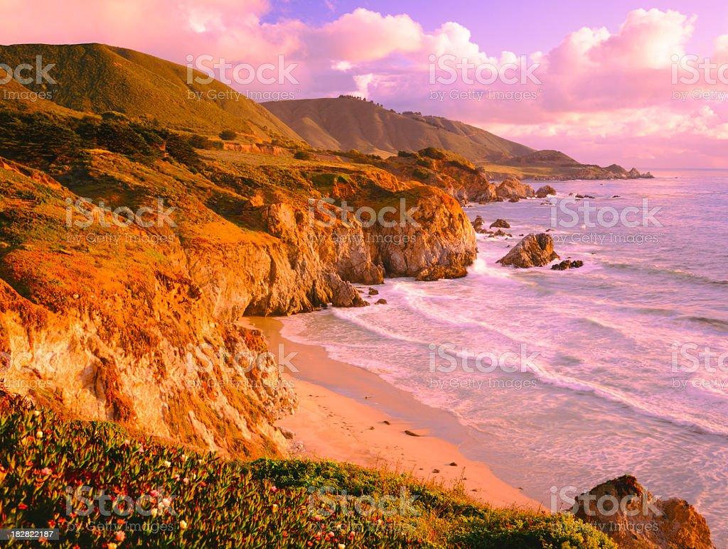Big Sur Coast Of California stock photo