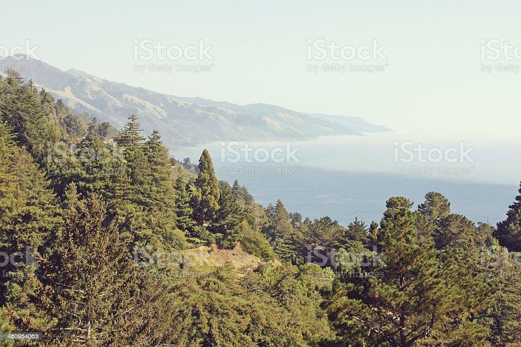 Big Sur Coast Of California. stock photo
