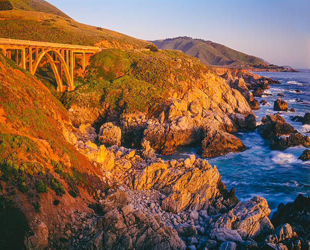 Big Sur Coastline, California  (P) stock photo