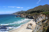 Big Sur Coastline view from the street
