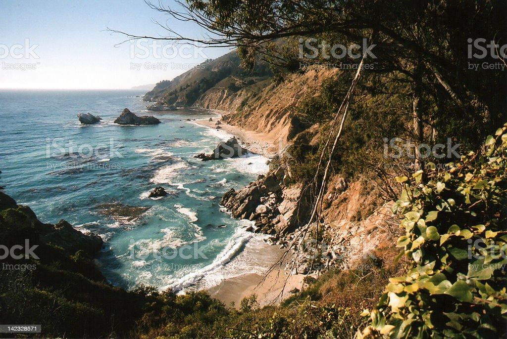 Big Sur Coastline stock photo