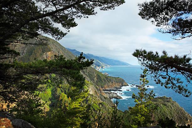 big sur coastline - central coast california stock photos and pictures