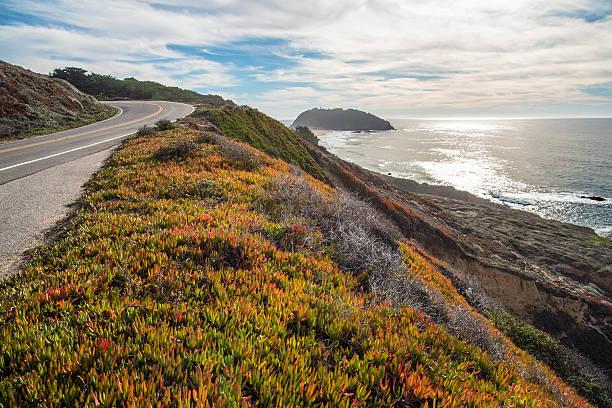big sur - monterrey coast - central coast california stock photos and pictures