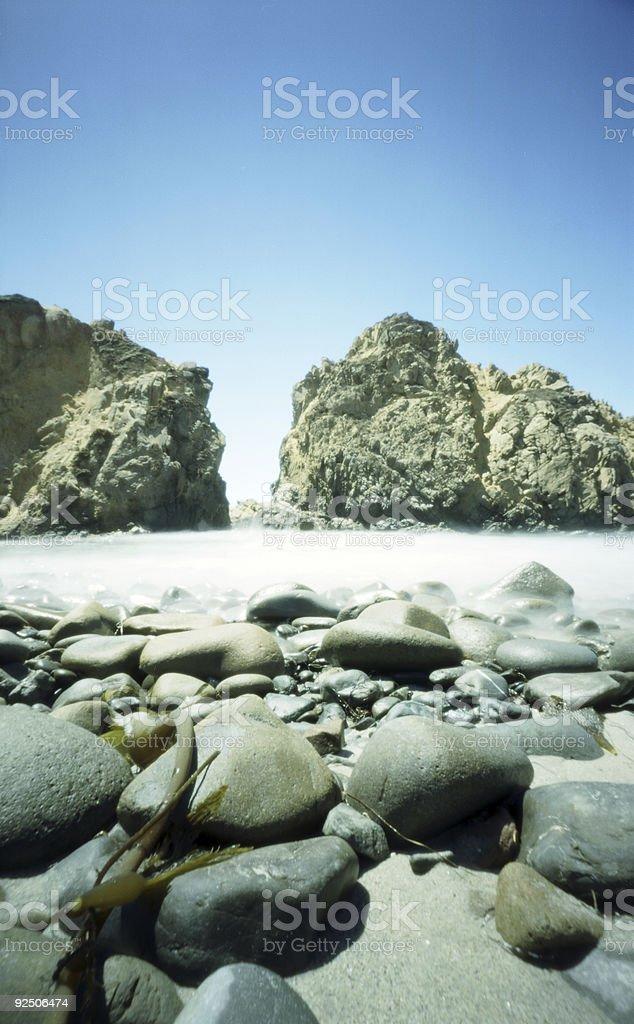 Big Sur Pinhole royalty-free stock photo