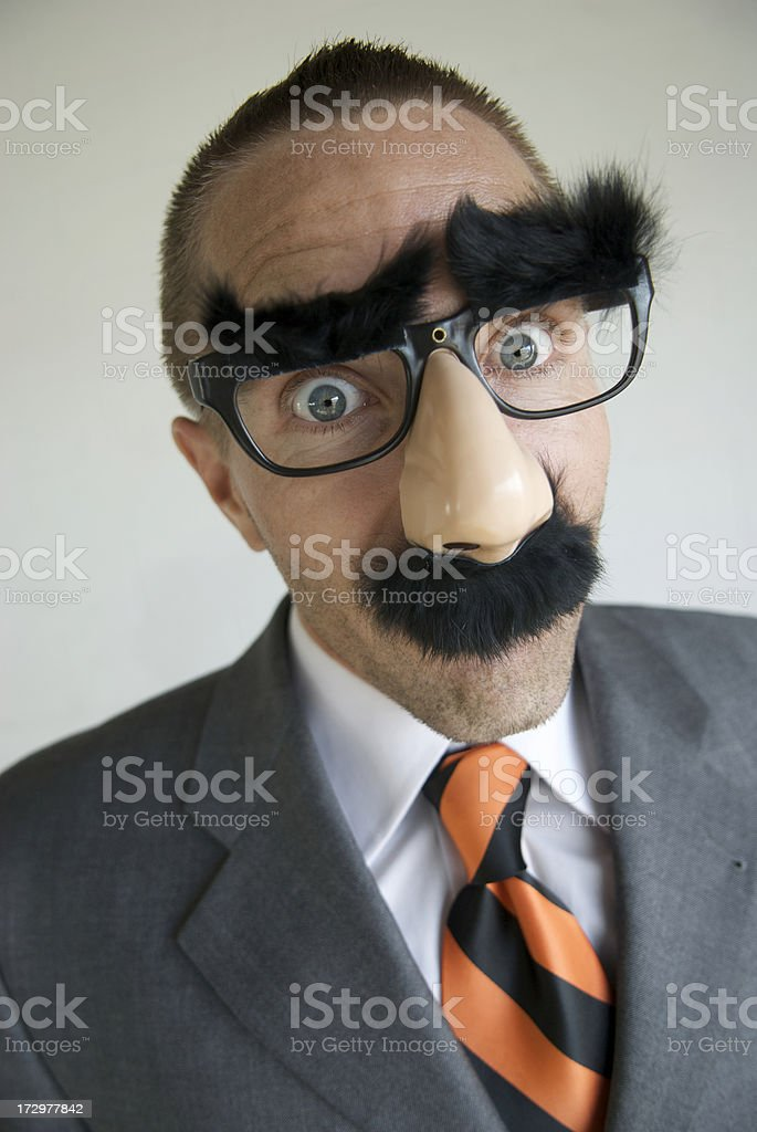 Big Surprise Disguise stock photo