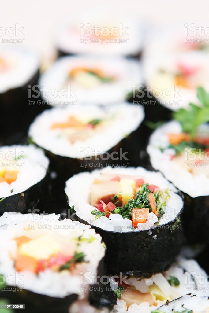 Big Sushi Platter royalty-free stock photo