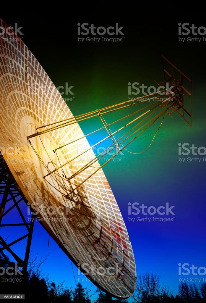 Big telescope. Russia, St. Petersburg, Pulkovo Observatory zbiór zdjęć royalty-free