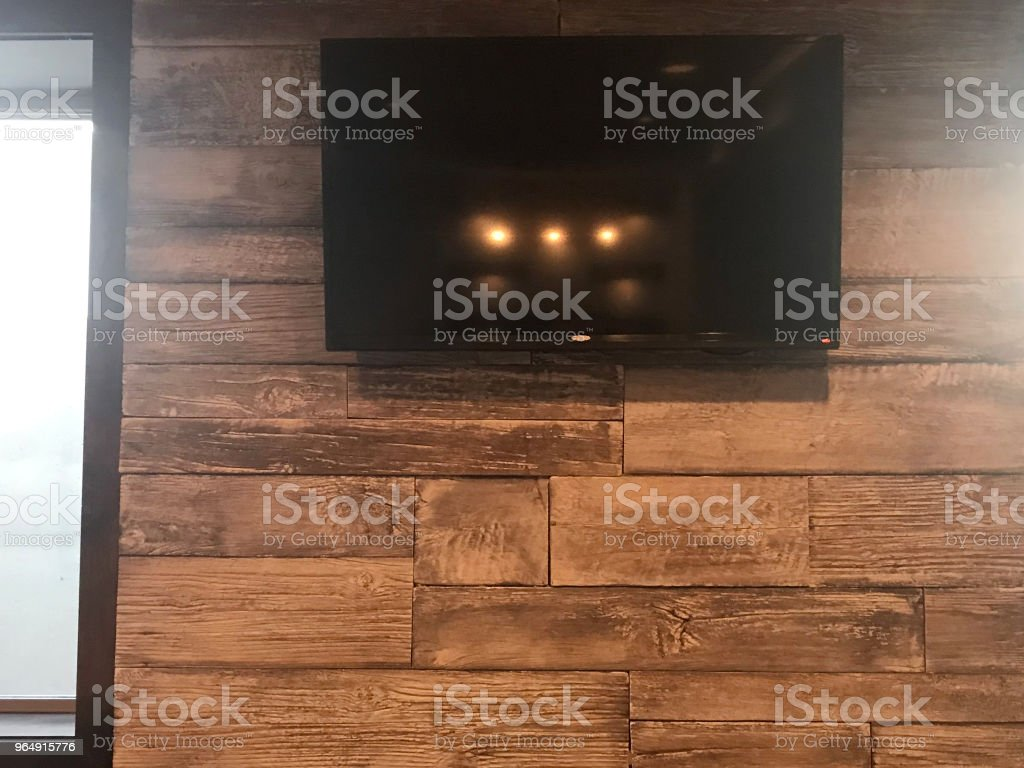 Big Television Screen - Royalty-free Arts Culture and Entertainment Stock Photo