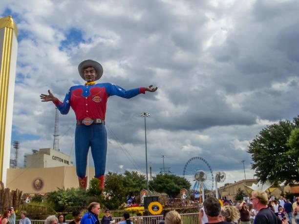 Big Tex - State Fair of Texas - Dallas stock photo