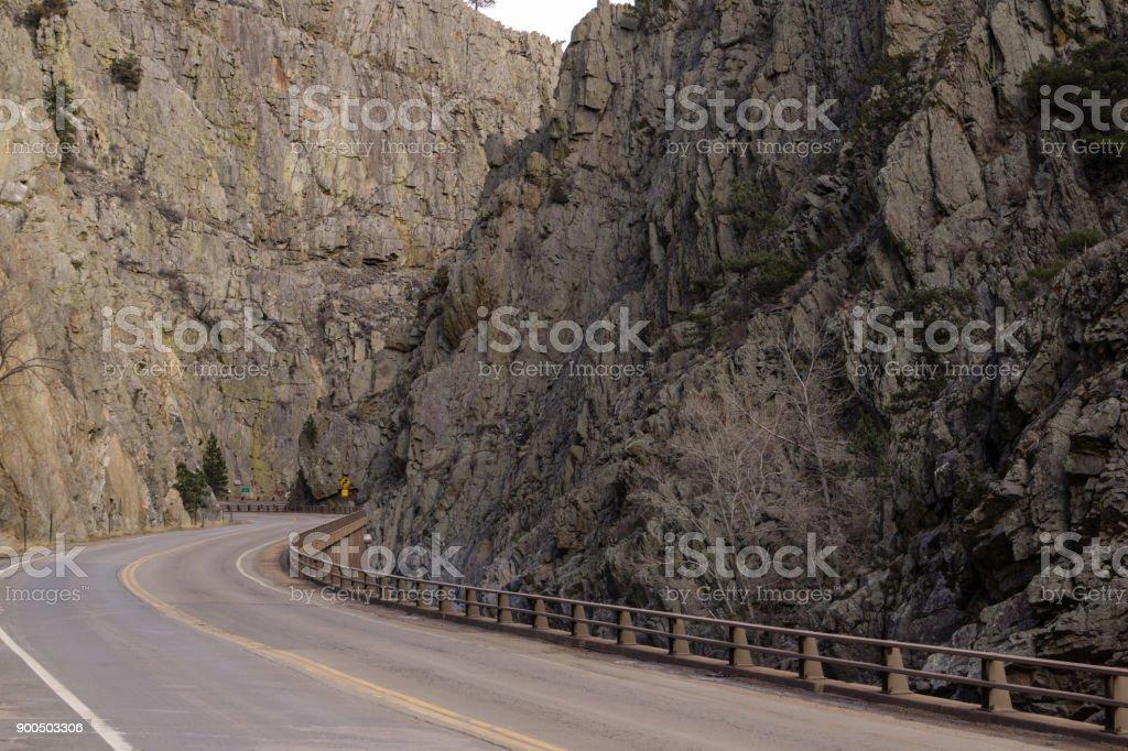 Big Thompson Canyon stock photo