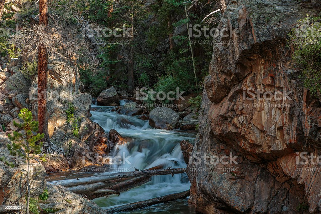 "Big Thompson River at ""The Pool"" The Big Thompson River at an area called ""The Pool."" 2015 Stock Photo"