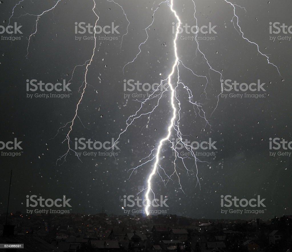 Big Thunder stock photo