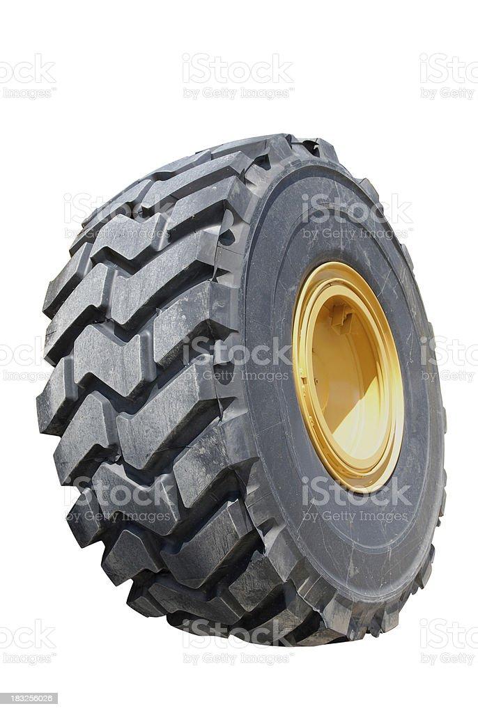 Big Tire royalty-free stock photo