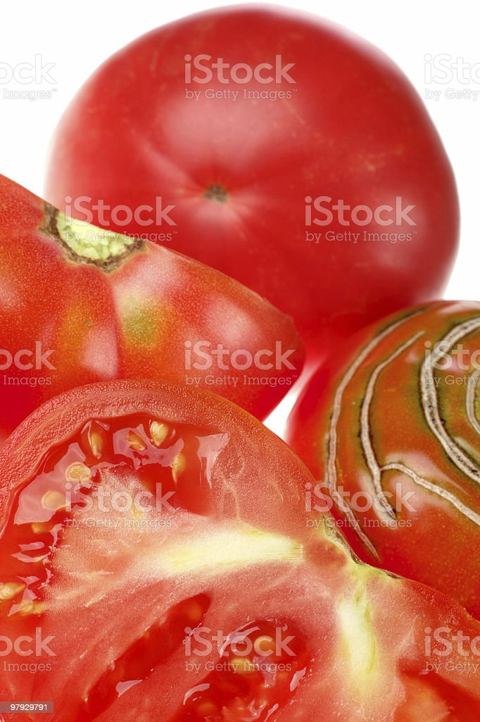 Big tomato royalty-free stock photo