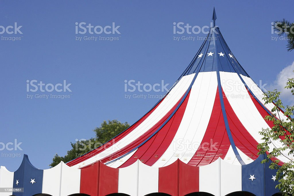 Big Top royalty-free stock photo