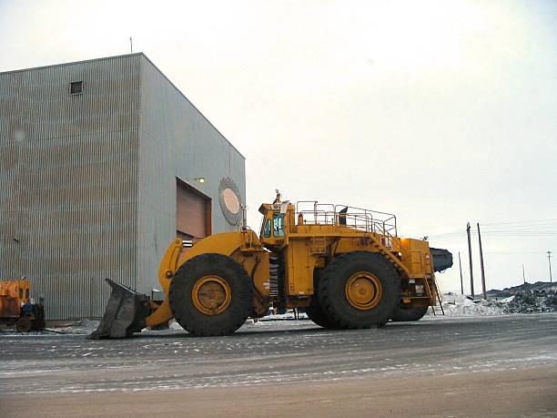 Big Tractor stock photo