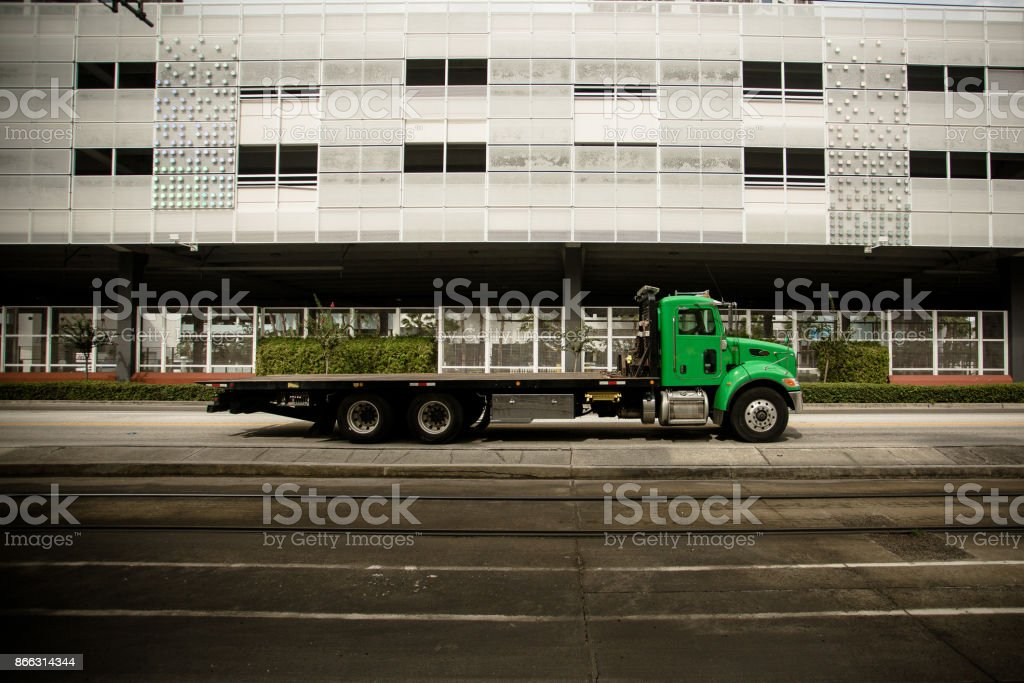 Tampa Truck Center >> Big Truck That Runs Through The Center Of The Tampa Stock Photo Download Image Now