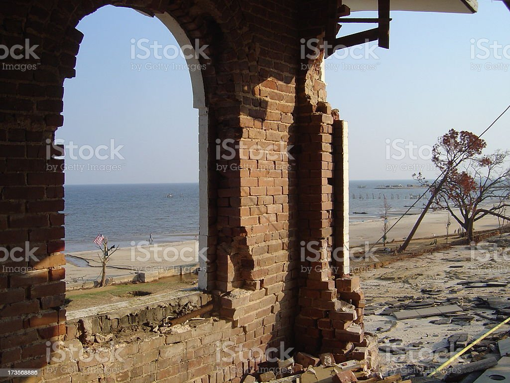 Big View Gulf of Mexico royalty-free stock photo