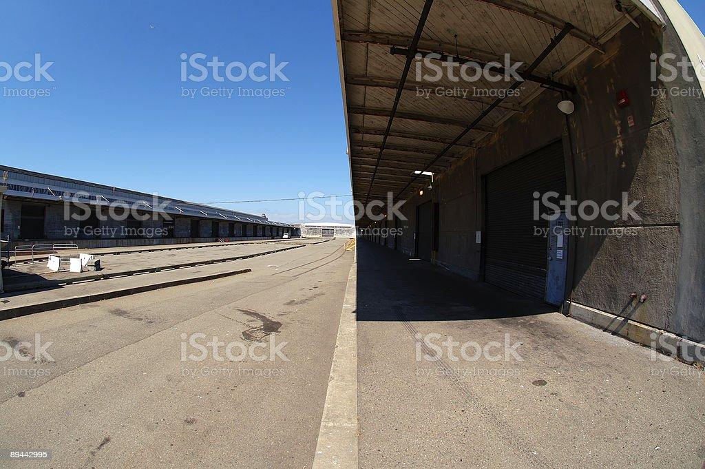 Big Warehouse royalty-free stock photo