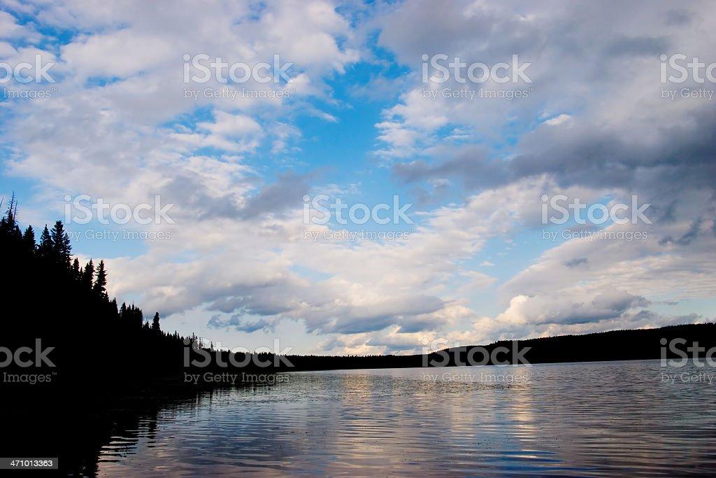 Big Water royalty-free stock photo