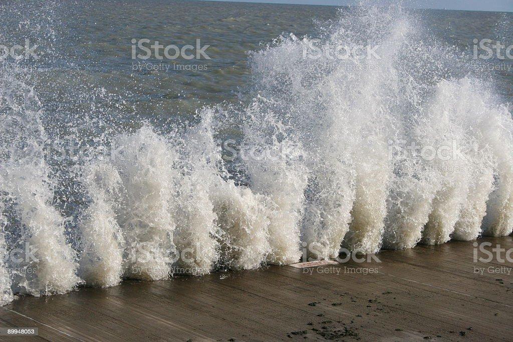 Big water splash royalty-free stock photo