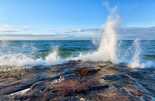 Big Wave on Lake Superior