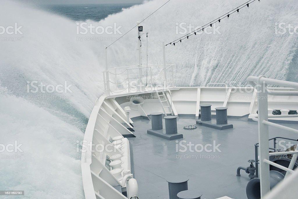 Big Wave royalty-free stock photo