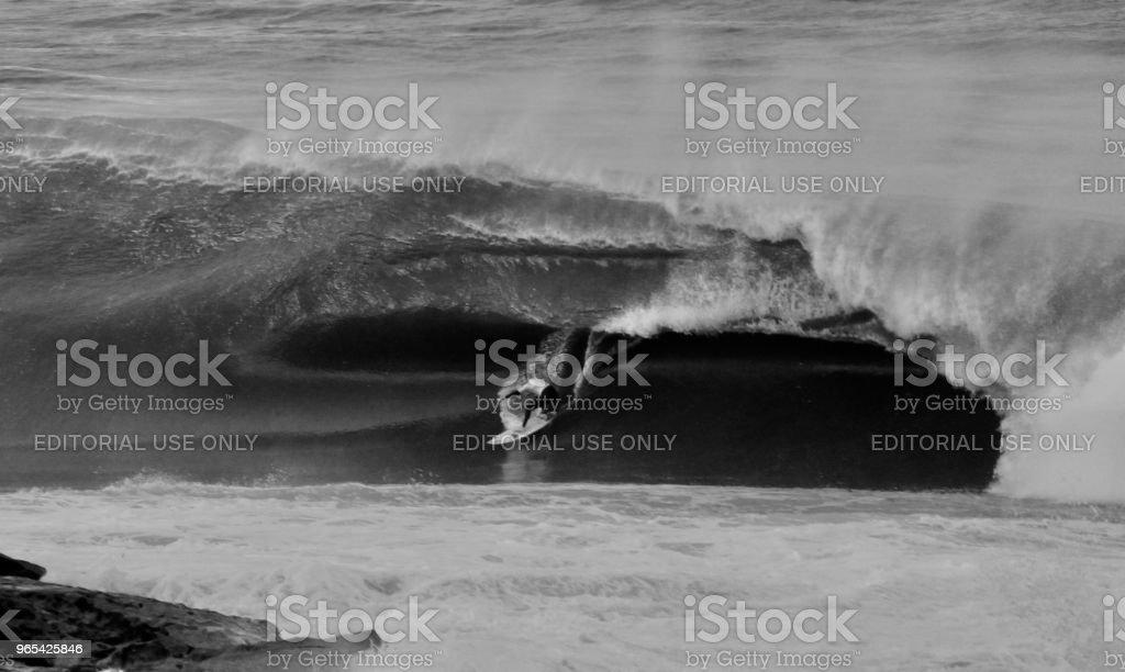 Big wave rider zbiór zdjęć royalty-free