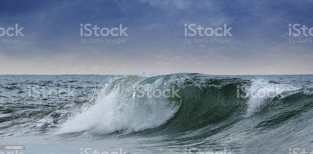 big waves ocean royalty-free stock photo