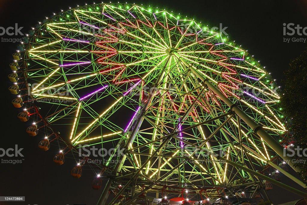 big wheel background royalty-free stock photo