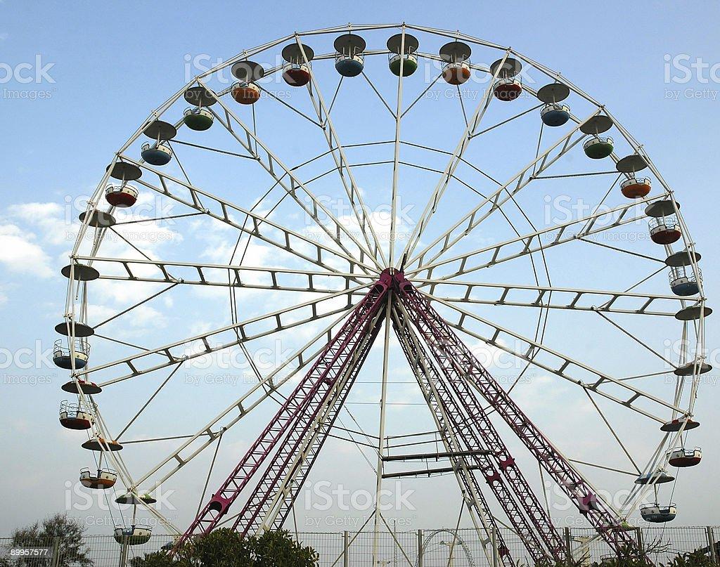 Big wheel royalty-free stock photo