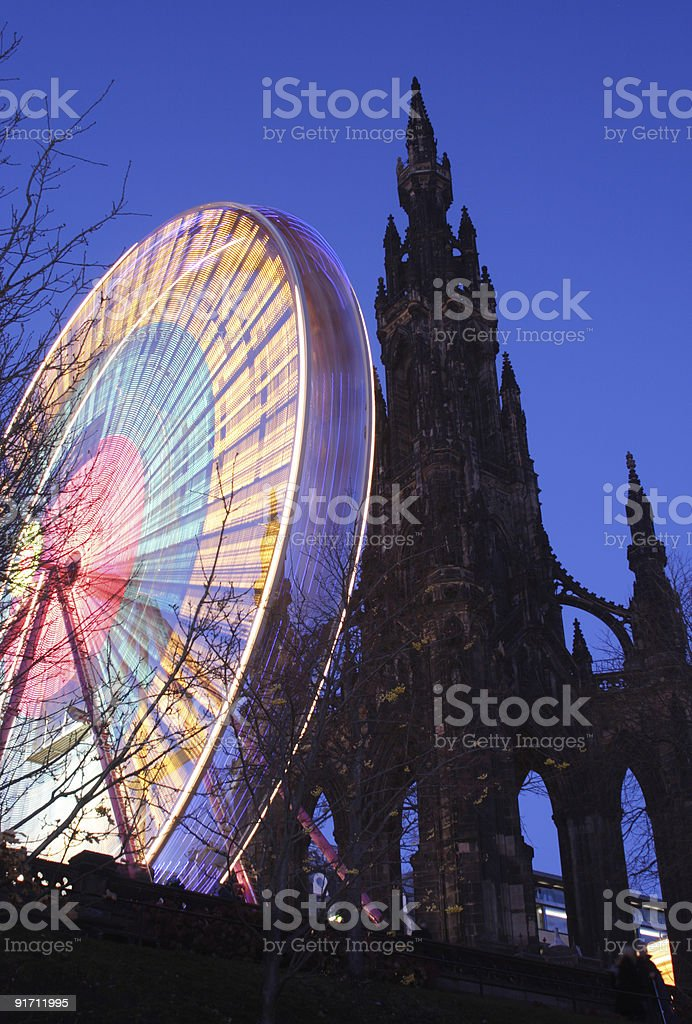 Big Wheel stock photo