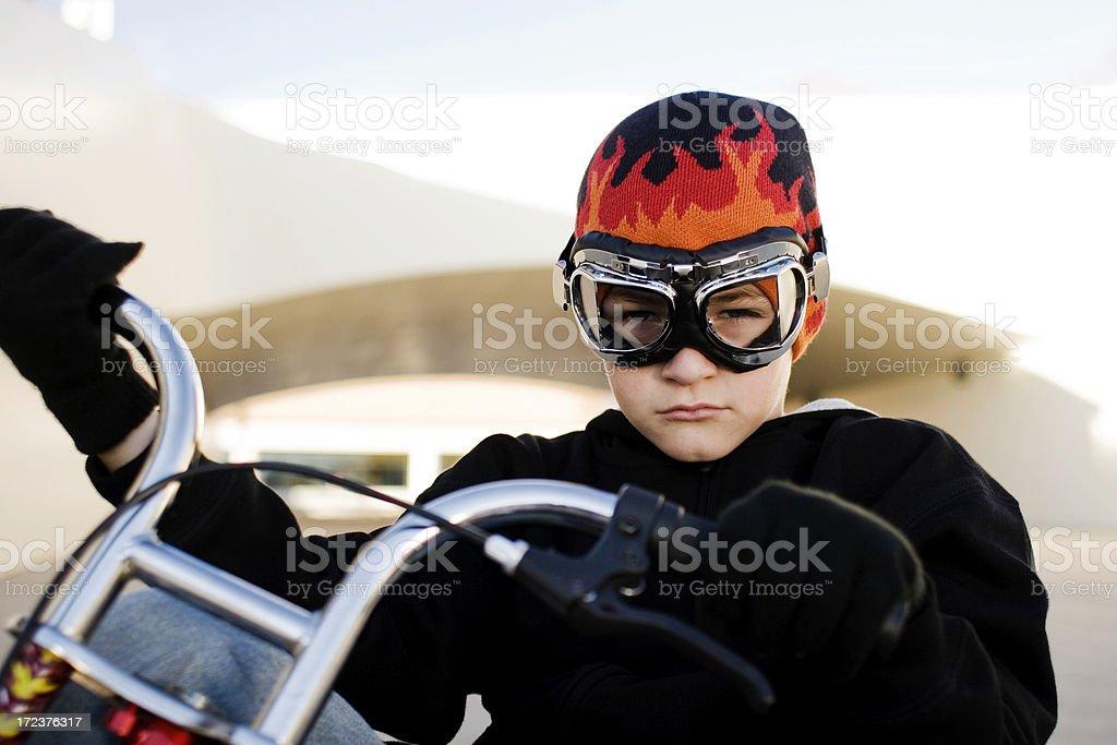 Big Wheel Racer royalty-free stock photo