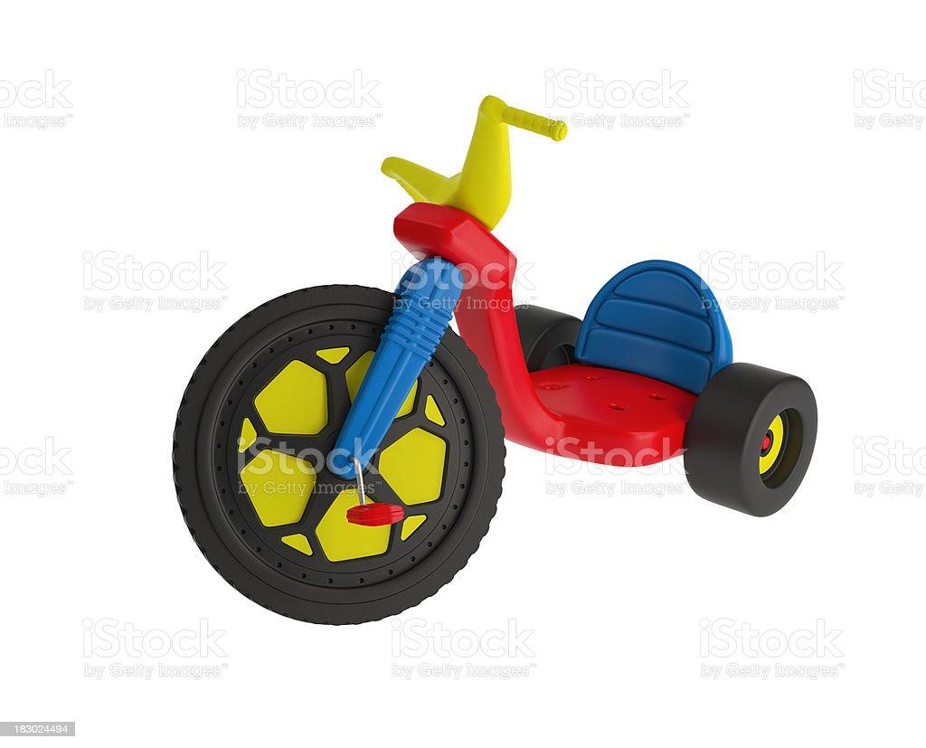 Big Wheel Trike royalty-free stock photo