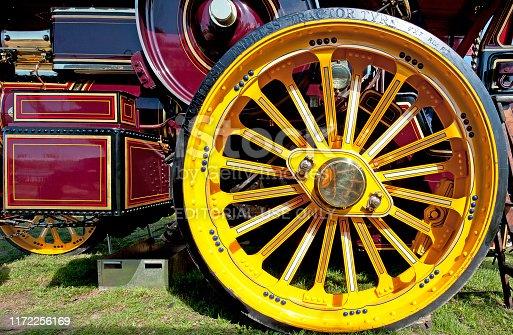istock Big wheels, big power, England, UK 1172256169
