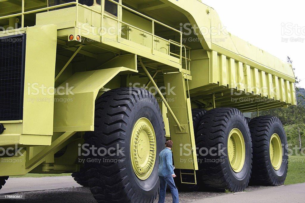 Big Wheels royalty-free stock photo