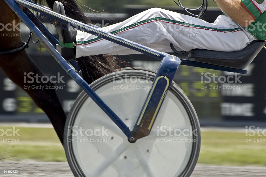 Big wheels stock photo