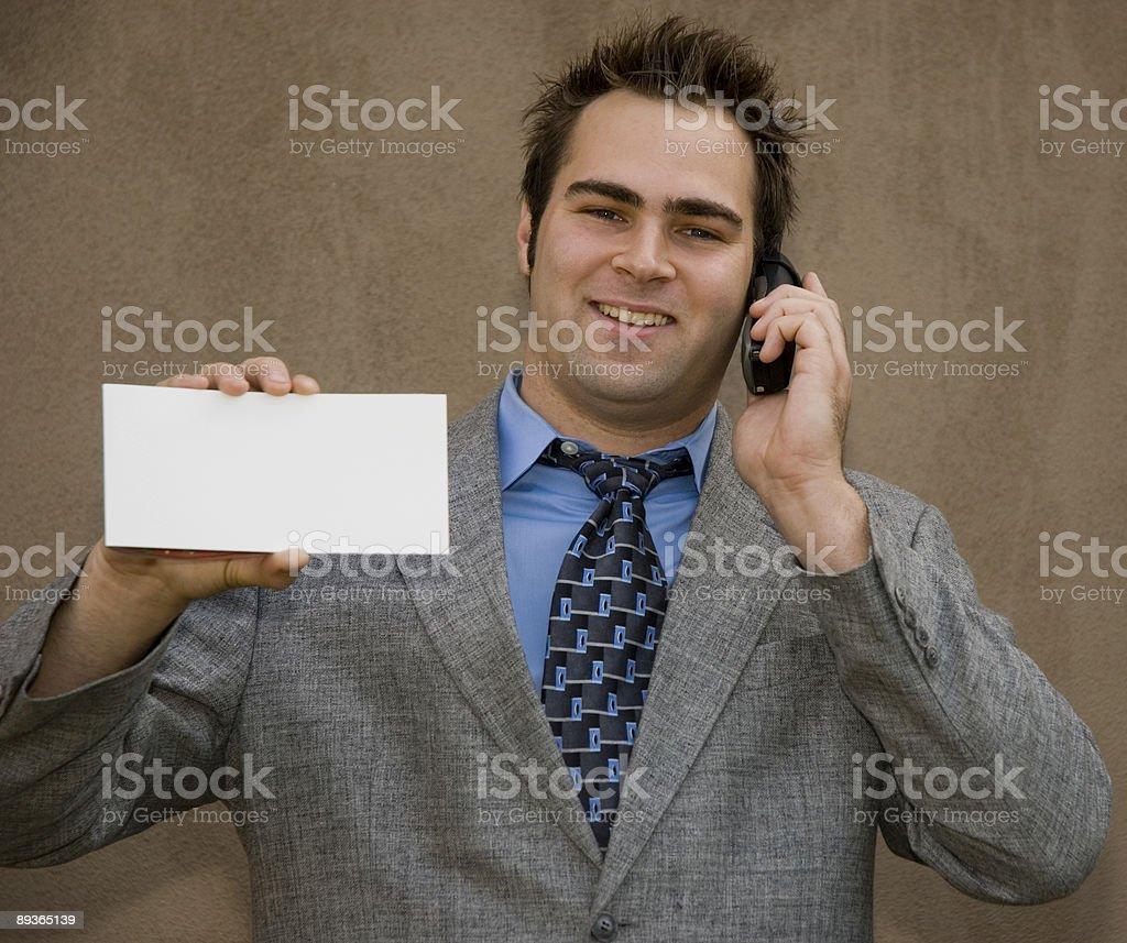 big white card royalty free stockfoto