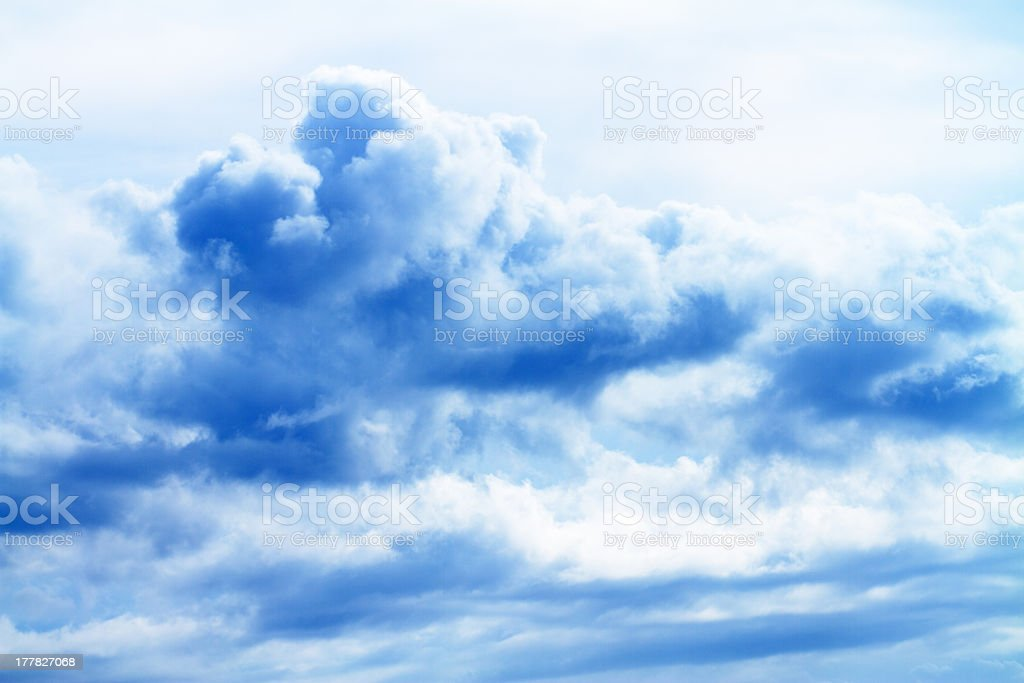 big white cloud royalty-free stock photo