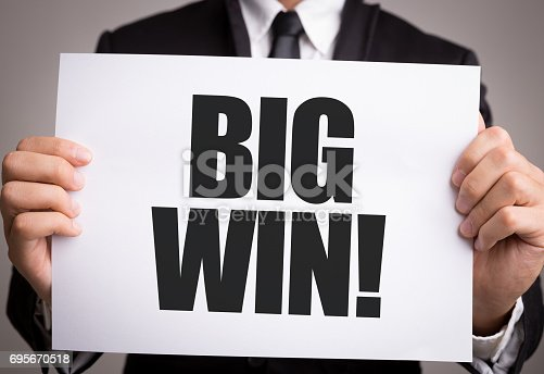 istock Big Win 695670518