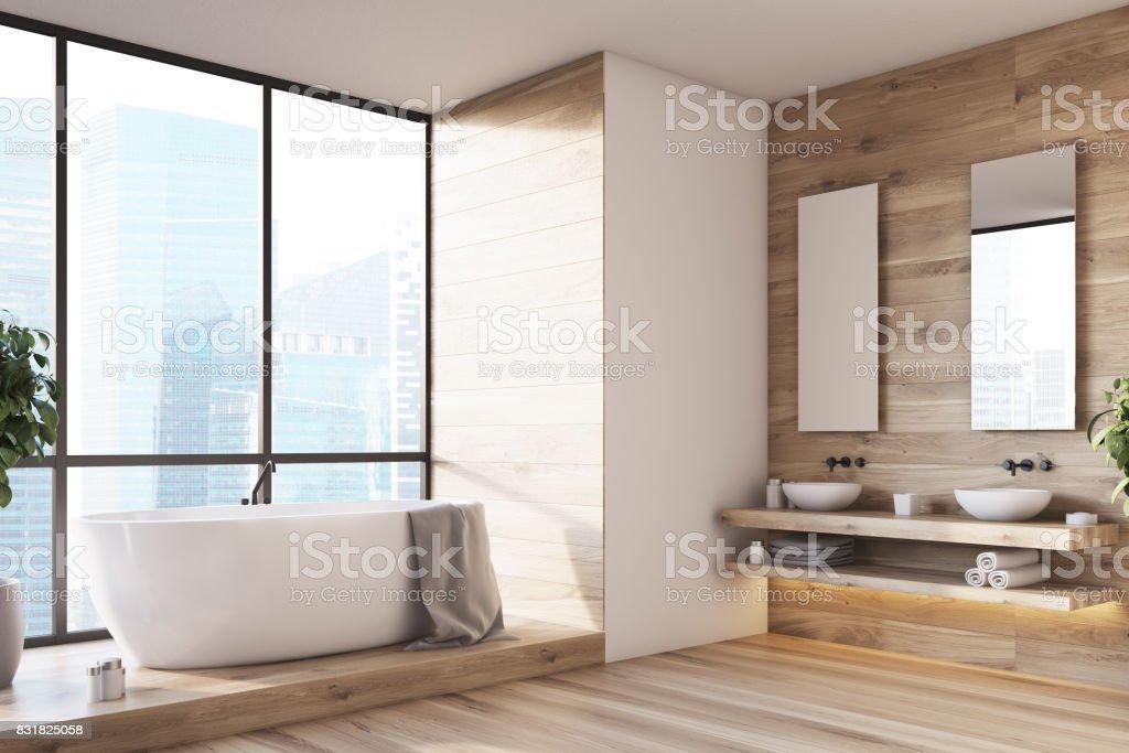 Großes Fenster Badezimmer Innenseite Stockfoto und mehr ...