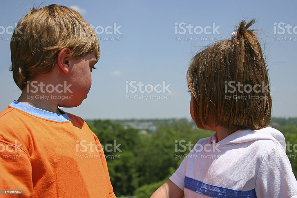 Big World Out There royalty-free stock photo