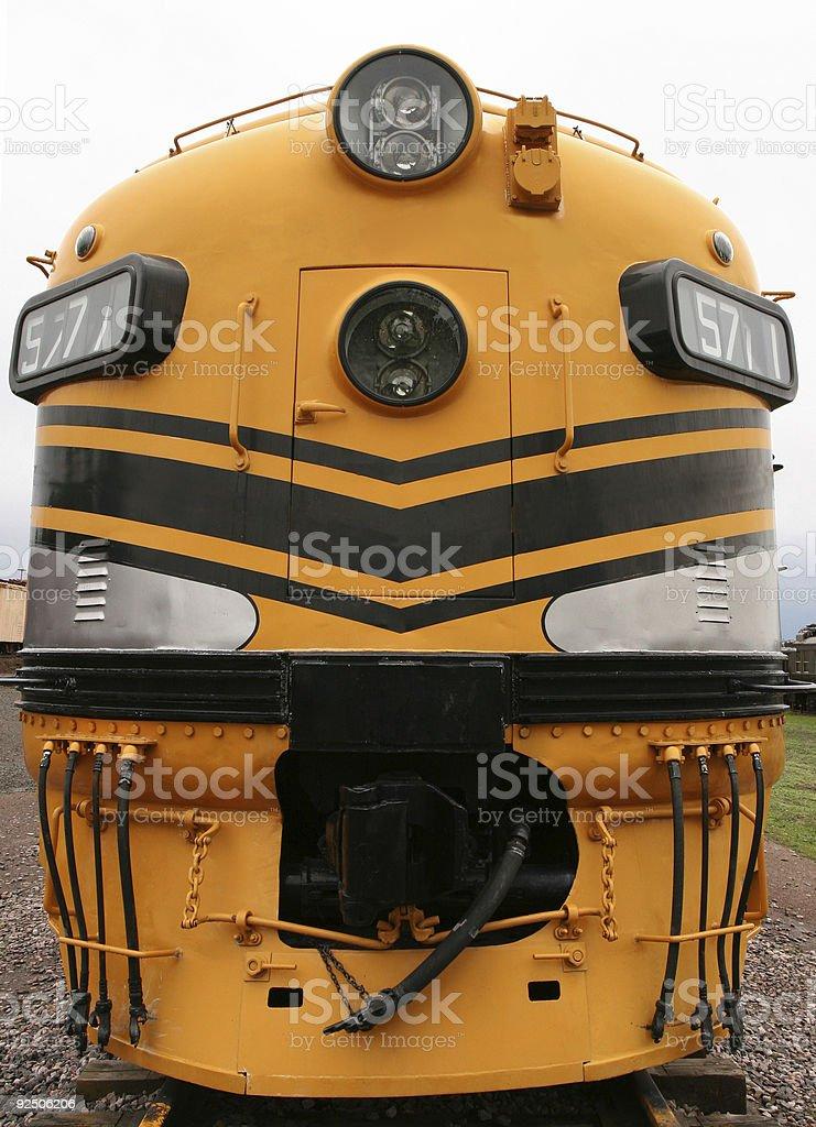 Big Yellow royalty-free stock photo