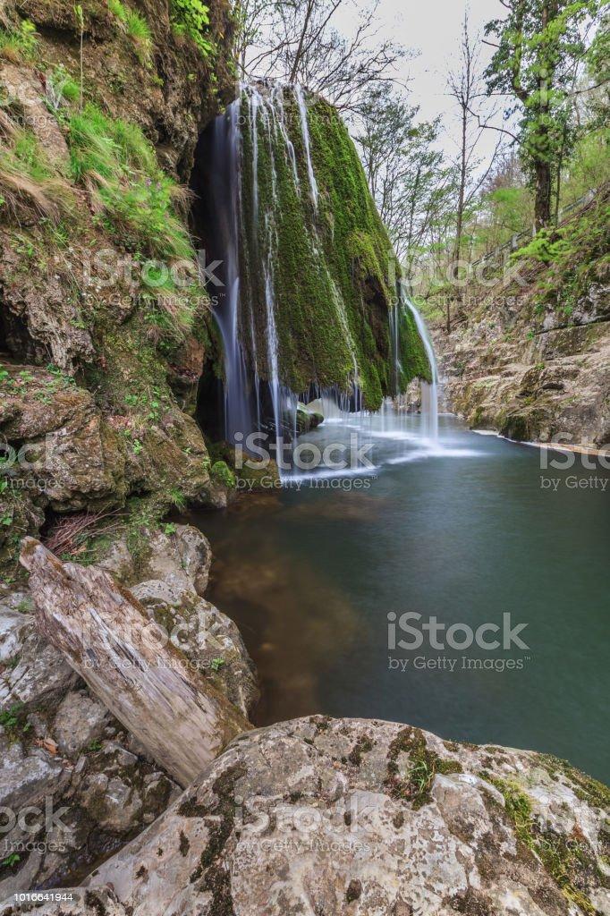 Chutes Beusnita Bigar Cascade dans le parc National des Gorges, Roumanie - Photo