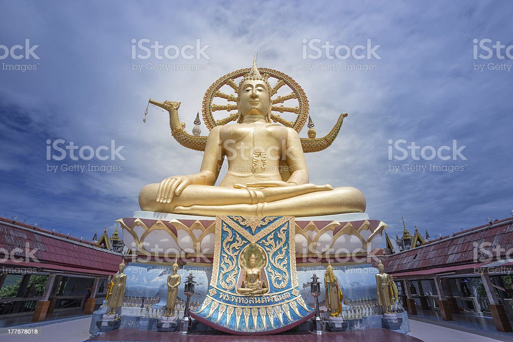 BigBuddha royalty-free stock photo