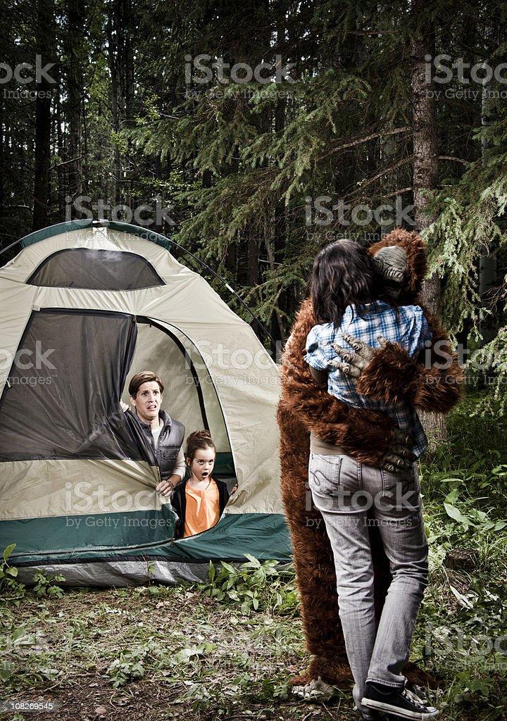 Bigfoot Love stock photo