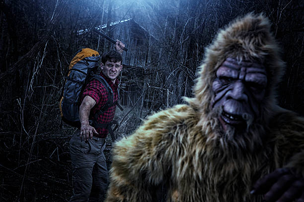 Bigfoot running from a hiker with an axe picture id482499081?b=1&k=6&m=482499081&s=612x612&w=0&h=z4vc06swjuslzxo2rdbdxcrcap9w3ibu oeraprudvq=