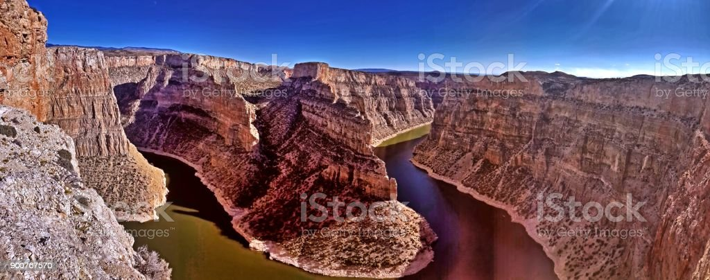 Bighorn Canyon National Recreation Area stock photo