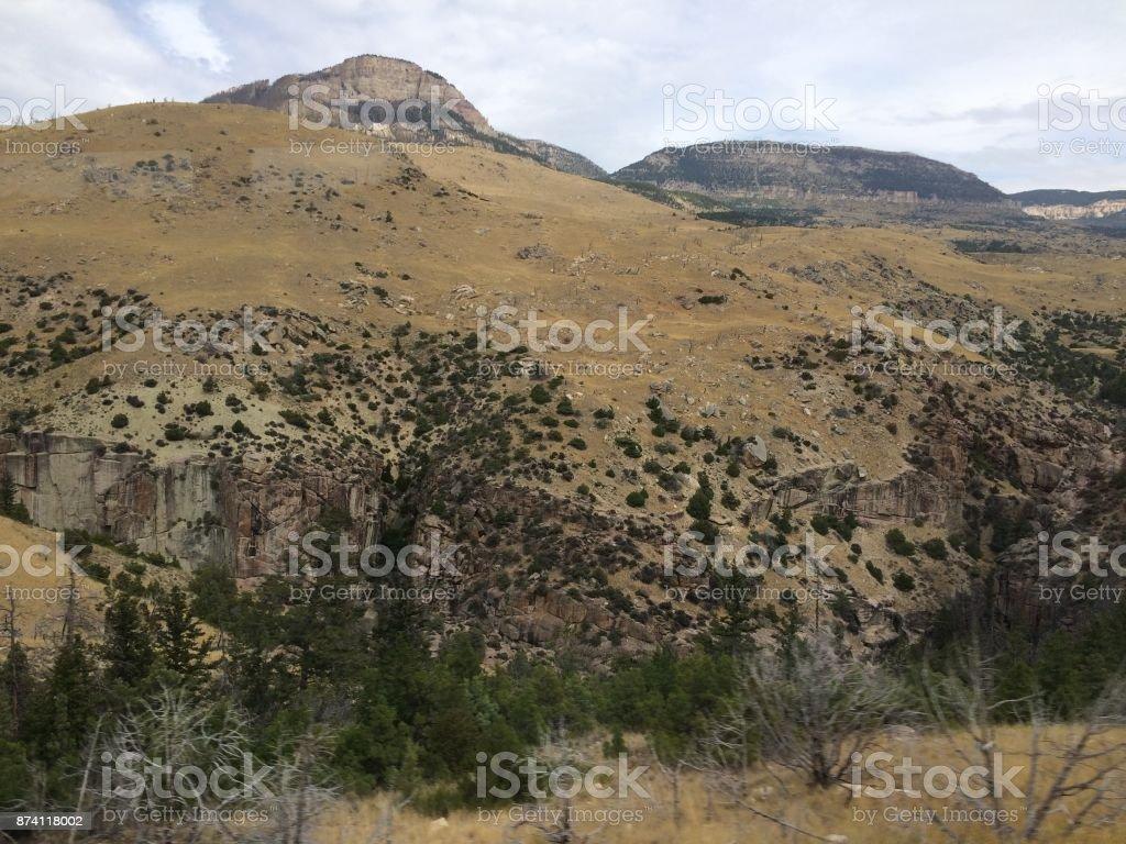 Bighorn Mountains stock photo