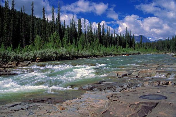 Bighorn River stock photo